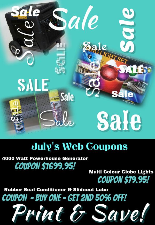 Julys Web Coupons