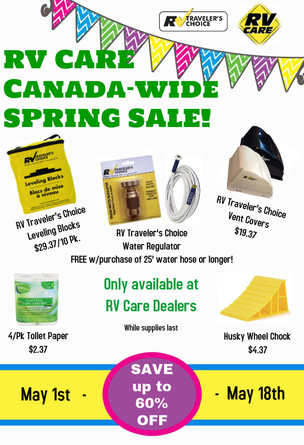 RV Care sale