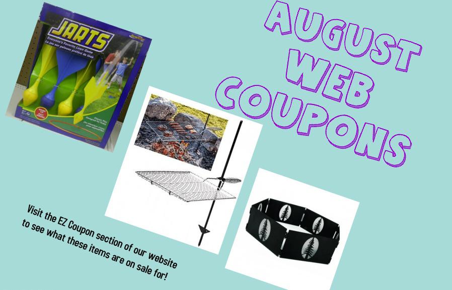 Aug Web Coupons