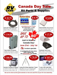 RV Care Retail Flyer English