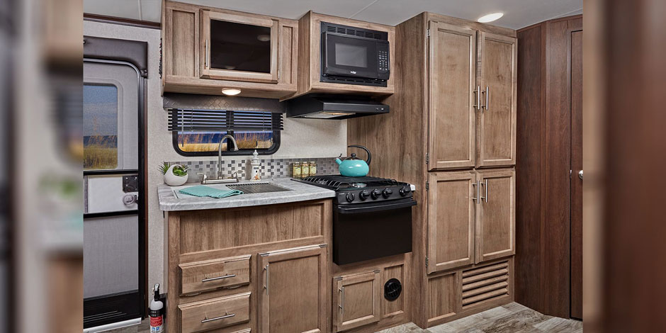 Jayco Jay Feather Kitchen