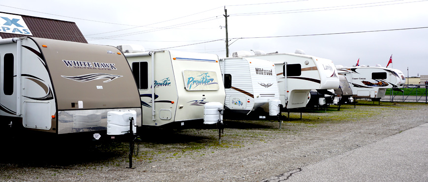 used travel trailers for sale ontario